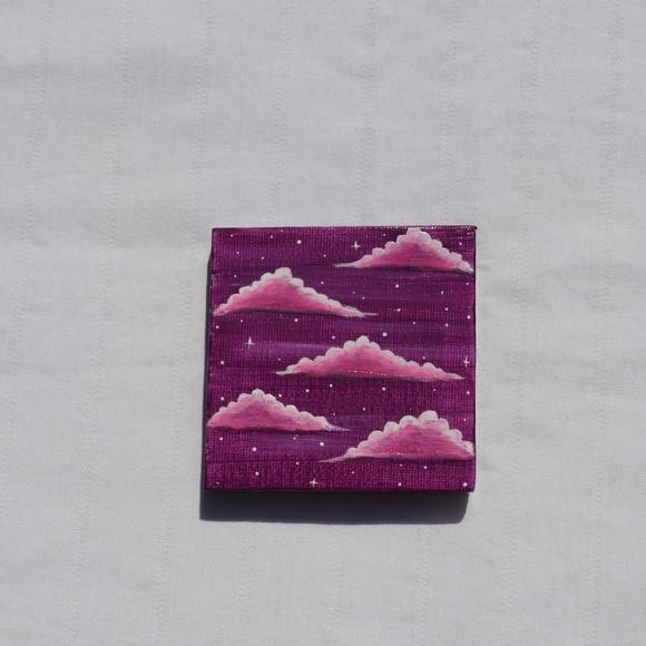 Wall Art Handmade 3x3inch Mini Canvas A Free Wood Easal